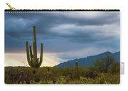 Cactus Sunset Saguaro National Park Arizona Carry-all Pouch