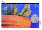 Cactus With Blue Dots Carry-all Pouch