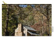 Cades Cove Early Settler Cabin  Carry-all Pouch