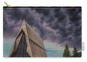 Cadet Chapel At The United States Air Force Academy Carry-all Pouch