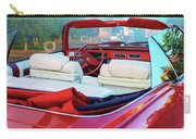 Cadillac Convertible -  A Car Class  Carry-all Pouch