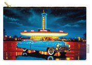 Cadillac Diner Carry-all Pouch by MGL Studio - Chris Hiett