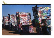 Cadillac Ranch On Route 66 Carry-all Pouch