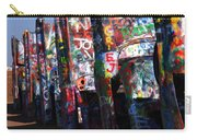Cadillac Ranch Route 66 Carry-all Pouch