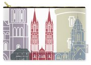 Caen Skyline Poster Carry-all Pouch