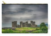 Caerphilly Castle East View 3 Carry-all Pouch