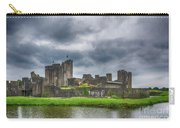 Caerphilly Castle North View 3 Carry-all Pouch