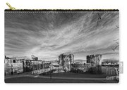 Caerphilly Castle Panorama Mono Carry-all Pouch
