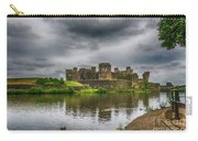 Caerphilly Castle South East View 2 Carry-all Pouch