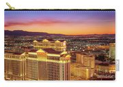 Caesars Palace After Sunset 6 To 3.5 Aspect Ratio Carry-all Pouch
