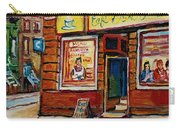 Cafe Bistro St. Viateur Carry-all Pouch