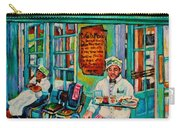 Cafe Du Monde Revisited  Carry-all Pouch