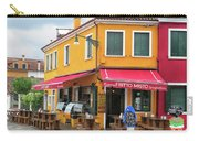 Cafe In Burano Carry-all Pouch