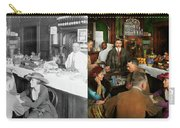Cafe - Temptations 1915 - Side By Side Carry-all Pouch