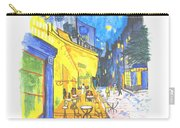 Cafe Terrace At Night - Van Gogh Carry-all Pouch