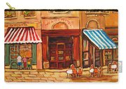 Cafe Vieux Montreal Carry-all Pouch