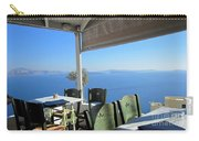 Cafe' With A View Carry-all Pouch