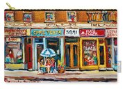 Cafe Yenta And Ma's Place Carry-all Pouch