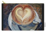 Caffe Vero's Heart Carry-all Pouch
