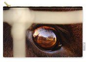 Caged Buffalo Reflects Carry-all Pouch