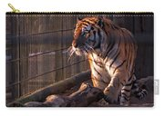 Caged King Of The Jungle Carry-all Pouch
