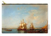 Caiques And Sailboats At The Bosphorus Carry-all Pouch