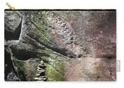 Cairn Rock Stack At Jones Gap State Park Carry-all Pouch by Kelly Hazel