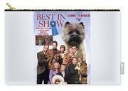 Cairn Terrier Art Canvas Print - Best In Show Movie Poster Carry-all Pouch