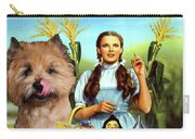 Cairn Terrier Art Canvas Print - The Wizard Of Oz Movie Poster Carry-all Pouch