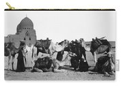 Cairo: Group Of Camels Carry-all Pouch