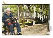 Cajun Man With Accordion Carry-all Pouch