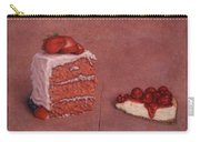 Cakefrontation Carry-all Pouch by James W Johnson