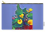 Cala Lily Caliente Carry-all Pouch