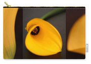 Cala Lily Tryptych Carry-all Pouch