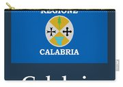 Calabria, Italy Flag And Name Carry-all Pouch