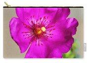 Calandrinia Flower Carry-all Pouch