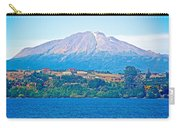 Calbuco Volcano Over Llanquihue Lake From Puerto Varas-chile Carry-all Pouch