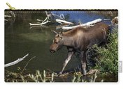 Calf Moose Carry-all Pouch