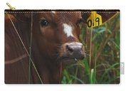 Calf Nineteen Carry-all Pouch