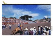 Calf Roping Event At Ellensburg Rodeo Carry-all Pouch
