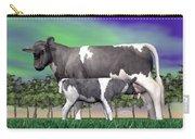 Calf Suckling - 3d Render Carry-all Pouch