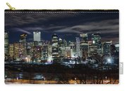 Calgary Skyline At Night Carry-all Pouch