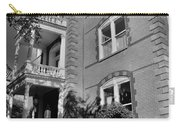 Calhoun Mansion Black And White Carry-all Pouch