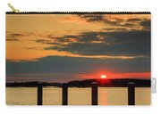 Calibogue Sound Sunset Carry-all Pouch