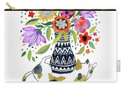 Calico Bouquet Carry-all Pouch