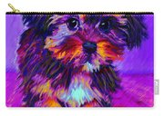 Calico Dog Carry-all Pouch by Jane Schnetlage