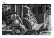 Calico Odessa Train In Black And White Carry-all Pouch