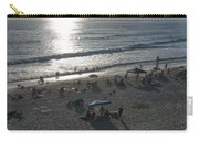 California Carlsbad Beach Almost Sunset Carry-all Pouch