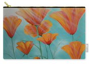 California Coast Flowers Carry-all Pouch