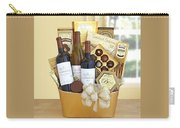 California Golden Bubbles Valentine Wine Gift  Carry-all Pouch